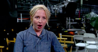 """08. Lecy Goranson, Becky Conner-Healy"""" On the themes of the show"""