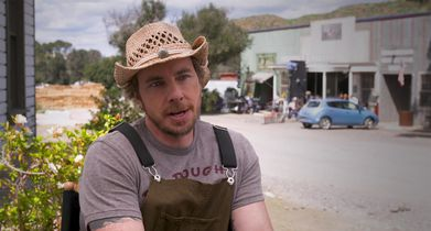 """07. Dax Shepard, """"Mike"""" & Executive Producer, On his character's relationship with his wife"""