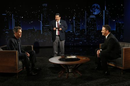 KEVIN BACON, GUILLERMO RODRIGUEZ, JIMMY KIMMEL