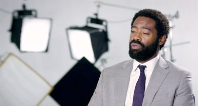"""12. Nicholas Pinnock, """"Aaron Wallace"""", On how this role is different from his previous roles"""