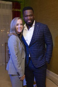 "KAREY BURKE (PRESIDENT, ABC ENTERTAINMENT), CURTIS ""50 CENT"" JACKSON (EXECUTIVE PRODUCER)"