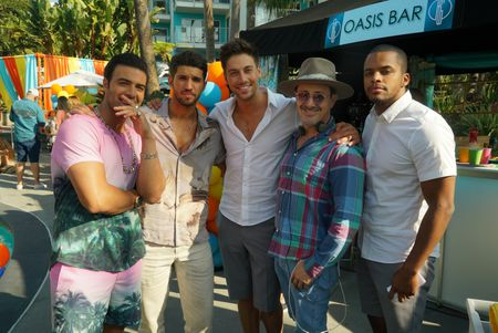 JENCARLOS CANELA, BRYAN CRAIG, LINCOLN YOUNES, BEN SPECTOR (EXECUTIVE PRODUCER), CHRIS WARREN