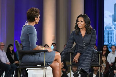 ROBIN ROBERTS, MICHELLE OBAMA