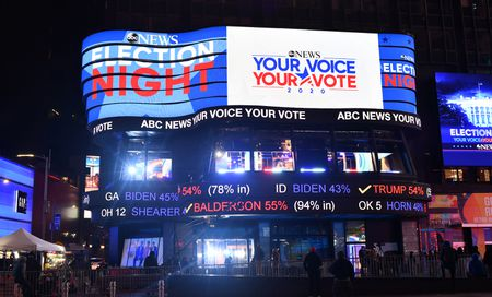 TIMES SQUARE STUDIO, ELECTION NIGHT