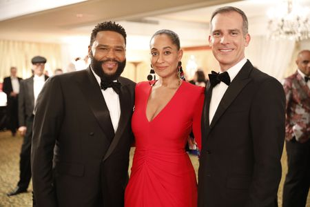 ANTHONY ANDERSON, TRACEE ELLIS ROSS, MAYOR ERIC GARCETTI