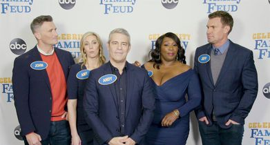 """Celebrity Family Feud"" Season 6 EPK - 8. Andy Cohen, Celebrity Team, On their opponents ""The Real Housewives of Beverly Hills"""
