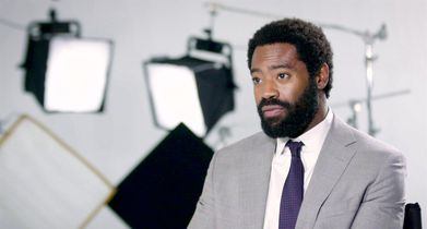 """10. Nicholas Pinnock, """"Aaron Wallace"""", On the premise of the show"""