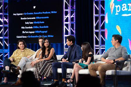 AMY LIPPMAN (EXECUTIVE PRODUCER, CO-CREATOR), BRANDON LARRACUENTE, EMILY TOSTA, NIKO GUARDADO, ELLE PARIS LEGASPI, GABRIEL LLANAS (CO-EXECUTIVE PRODUCER)