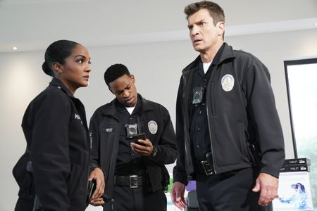 MEKIA COX, TITUS MAKIN, NATHAN FILLION