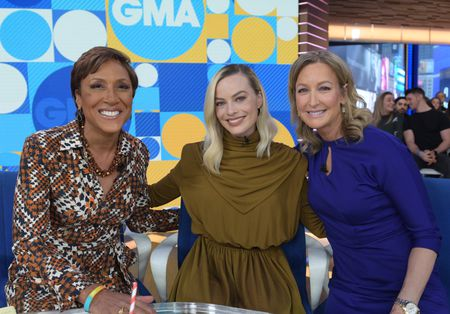 ROBIN ROBERTS, MARGOT ROBBIE, LARA SPENCER