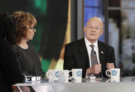 JOY BEHAR, JAMES CLAPPER