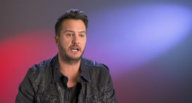 08. Luke Bryan, Judge, On connecting with the contestants
