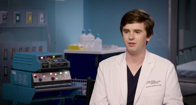 "05. Freddie Highmore, ""Dr. Shaun Murphy"", On why audiences relate to his character"