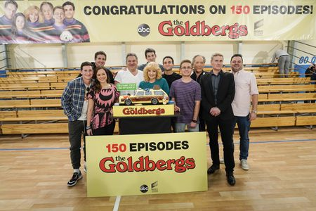 SAM LERNER, HAYLEY ORRANTIA, DOUG ROBINSON (EXECUTIVE PRODUCER), JEFF GARLIN, WENDI MCLENDON-COVEY, ALEX BARNOW (SHOWRUNNER), TROY GENTILE, SEAN GIAMBRONE, GEORGE SEGAL, JEFF FROST (PRESIDENT, SONY PICTURES TELEVISION), CHRIS BISHOP (SHOWRUNNER)