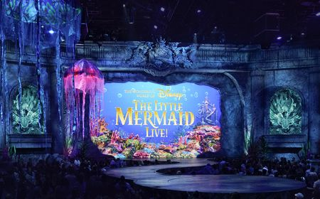 THE WONDERFUL WORLD OF DISNEY PRESENTS THE LITTLE MERMAID LIVE!
