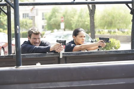 NATHAN FILLION, ALYSSA DIAZ