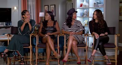 "02.	Tracee Ellis Ross, ""Rainbow Johnson"", On how this reunion took place"
