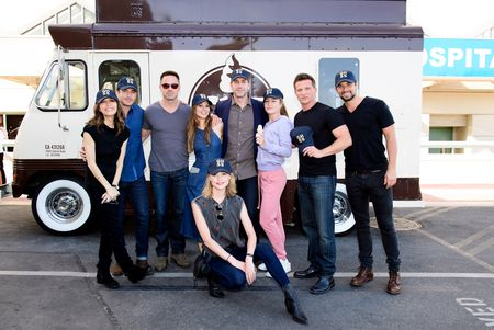 RYAN CARNES, WILLIAM DEVRY, TAMARA BRAUN, HAYLEY ERIN, EXECUTIVE PRODUCER FRANK VALENTINI, EDEN MCCOY,STEVE BURTON, JOSH SWICKARD