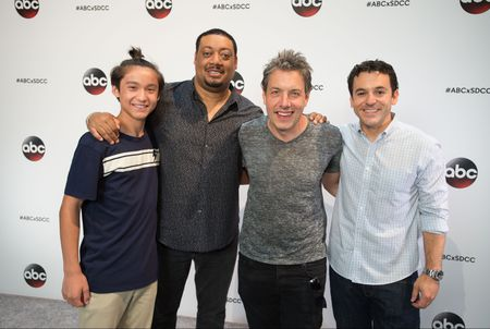 FORREST WHEELER, CEDRIC YARBROUGH, JOHN ROSS BOWIE, FRED SAVAGE