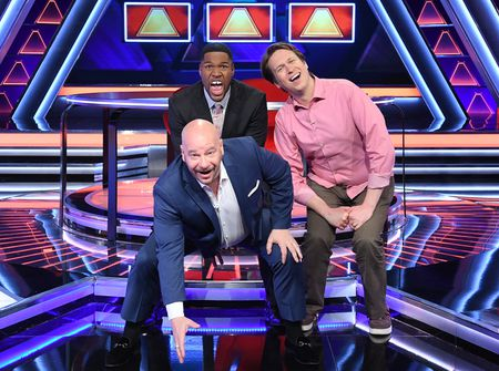 JEFF ROSS, MICHAEL STRAHAN, PETE HOLMES