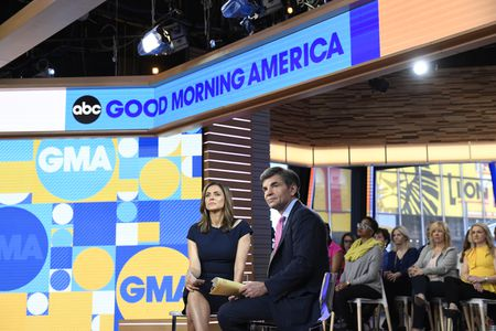 PAULA FARIS, GEORGE STEPHANOPOULOS