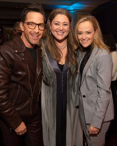 DAN BUCATINSKY, CAMRYN MANHEIM, KAREY BURKE (PRESIDENT, ABC ENTERTAINMENT)