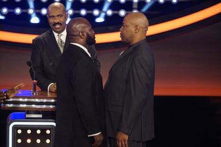 STEVE HARVEY, JAMES TONEY, RAY MERCER
