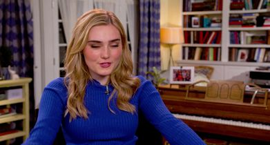 """16.Meg Donnelly, """"Taylor Otto"""", On her hope for viewers"""