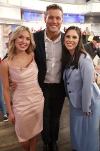 CASSIE RANDOLPH, COLTON UNDERWOOD, ABBY HUNTSMAN
