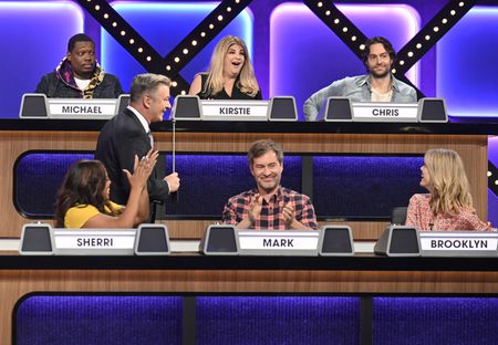 MICHAEL CHE, SHERRI SHEPHERD, ALEC BALDWIN, KIRSTIE ALLEY, MARK DUPLASS, CHRIS D'ELIA, BROOKLYN DECKER