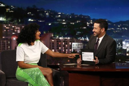 TRACEE ELLIS ROSS, JIMMY KIMMEL