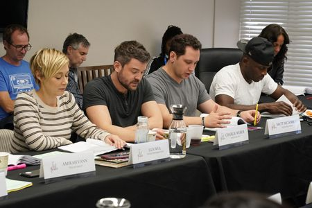 LIZA WEIL, CHARLIE WEBER, MATT MCGORRY, BILLY BROWN