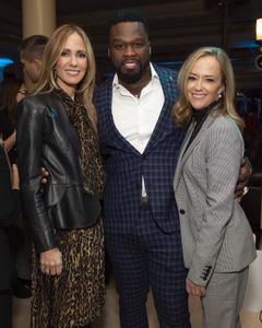 "DANA WALDEN (CHAIRMAN, DISNEY TELEVISION STUDIOS AND ABC ENTERTAINMENT), CURTIS ""50 CENT"" JACKSON (EXECUTIVE PRODUCER), KAREY BURKE (PRESIDENT, ABC ENTERTAINMENT)"