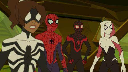 SPIDER-GIRL, SPIDER-MAN, KID ARACHNID, GHOST-SPIDER
