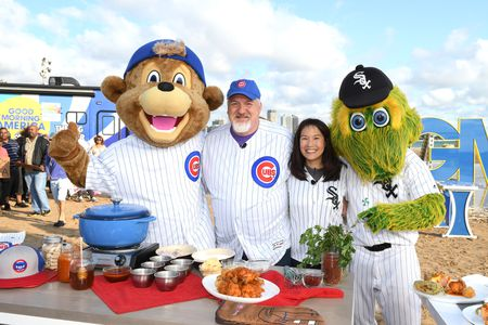 CHICAGO MASCOTS, ART SMITH, BEVERLY KIM
