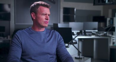 "Whiskey Cavalier Season 1 EPK Soundbites - 03. Scott Foley, ""Will Chase"" & Producer, On the genesis of the show"