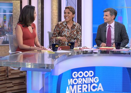 CECILIA VEGA, ROBIN ROBERTS, GEORGE STEPHANOPOULOS