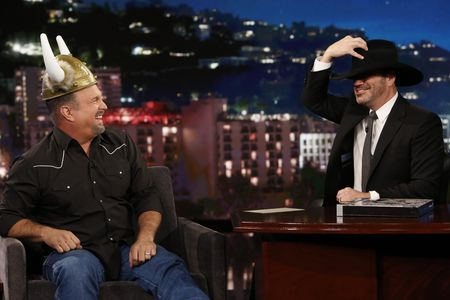 GARTH BROOKS, JIMMY KIMMEL