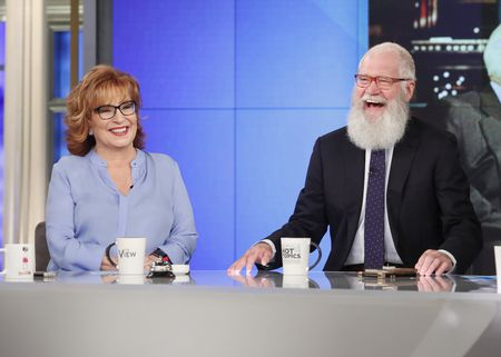 JOY BEHAR, DAVID LETTERMAN