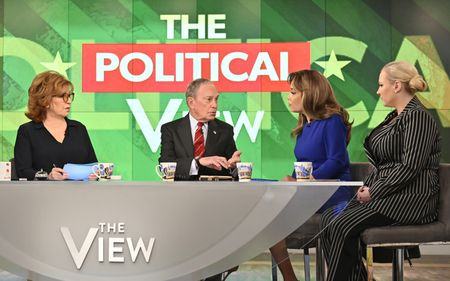 JOY BEHAR, MICHAEL BLOOMBERG, SUNNY HOSTIN, MEGHAN MCCAIN
