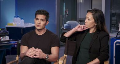 "08. Nicholas Gonzalez, ""Dr. Neil Melendez"", Christina Chang, ""Dr. Audrey Lim"", On the evolution of their characters"