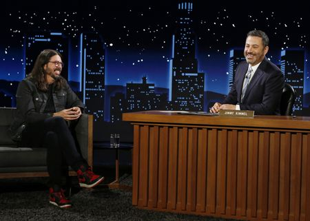 DAVE GROHL, JIMMY KIMMEL