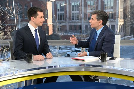 PETE BUTTIGIEG, GEORGE STEPHANOPOULOS