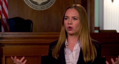 """04. Britt Robertson, """"Sandra Bell"""", On why audiences will want to tune in"""