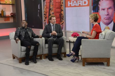 KEVIN HART, WILL FERRELL, AMY ROBACH