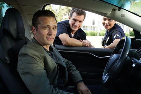 SEAMUS DEVER, NATHAN FILLION, ALYSSA DIAZ