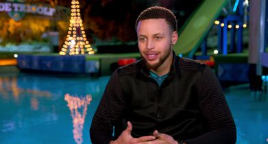 02. Stephen Curry, Club Pro & Executive Producer, On why he wanted to be a part of the show