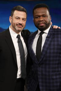 "JIMMY KIMMEL, CURTIS ""50 CENT"" JACKSON"