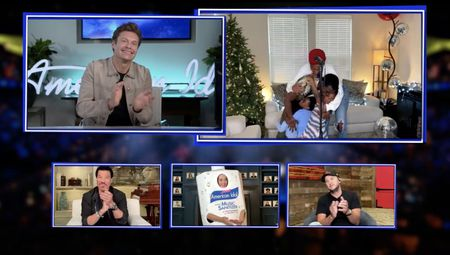 RYAN SEACREST, LIONEL RICHIE, KATY PERRY, DEWAYNE CROCKER JR., LUKE BRYAN