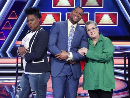 LESLIE JONES, MICHAEL STRAHAN, ROSIE O'DONNELL